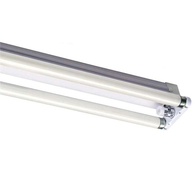 Fluorescent Light Batten Fittings: T8 Fluorescent Tube Batten Strip Light Fittings Single