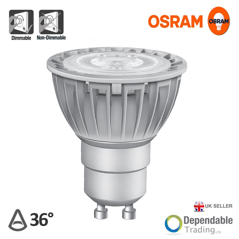 osram parathom led par16 gu10 lamp dimmable or non. Black Bedroom Furniture Sets. Home Design Ideas