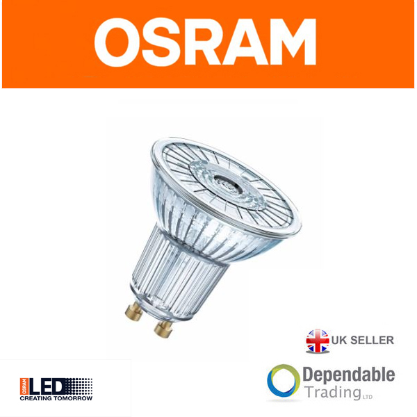 osram led bulb par16 gu10 36 deg cool white 4000k. Black Bedroom Furniture Sets. Home Design Ideas