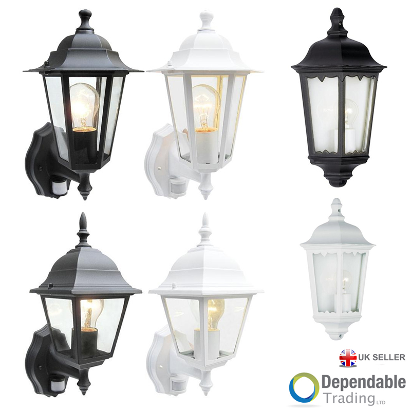 Traditional Garden Wall Lights : Traditional Garden Wall Lights Lanterns Outdoor Lights Exterior Garden Lights eBay